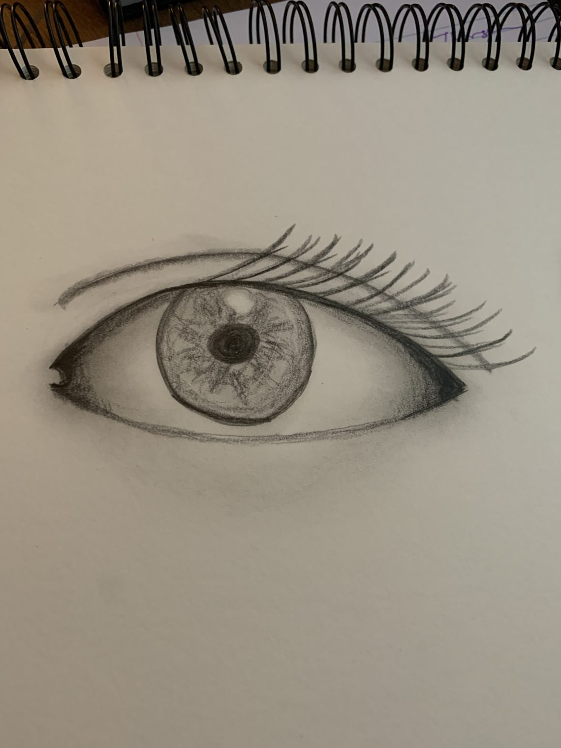 My drawing of an eye